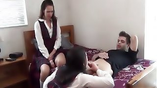 Do you like Stepmom's huge tits? -Sybil Stallone