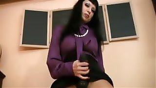 porn dirty talking mistress strapon JOI jerkoff instructions