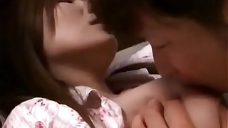 Japanese Asian Mom has Nice Sex with her Son