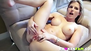 Mom Cory Chase is boring so she fuck her son