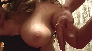 Blonde Fatty Mature Sexy Stockings Sucking Cock