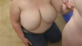 Boy bangs sexy fattie hard