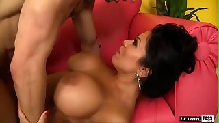 Incredibly Hot MILF w/ Big Tits Sienna West Invites Neighborhood Boy In For Some Lemonade, Licks His Ass Then Bends Over!