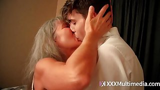 Old step mom fucks young son - Leilani Lei