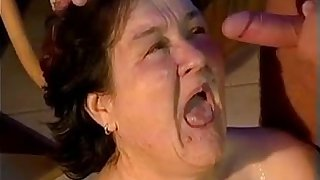 Big Granny Wants A Hard Cock In Her