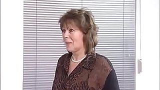 Hey My Grandma Is A Whore #25 - Doris - My grandma gives my a blow job