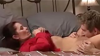 Sexy mom get fucked by son badly