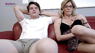 Fucking My Horny Step Mom for the First Time