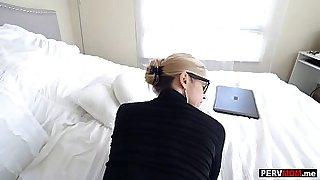 Big fake tits mom had me fuck her until she orgasmed