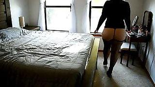 Bbw Mom Window Exhibitionist Slut