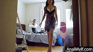Butt fucking my mom