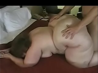 Son pleases mom'_s big ass