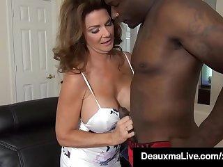Busty Texas Mommy Deauxma Fucks Big Black Cock To Erase Debt