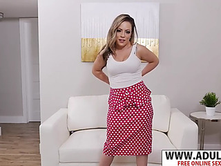 Frail mother in law carmen valentina gives blow job well juvenile dad's ally
